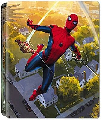 Blu-ray SPIDER-MAN : HOMECOMING - STEELBOOK LIMITE BD 3D + 2D (UV)