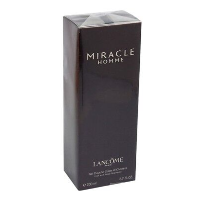 Lancome MIRACLE HOMME Hair and Body Shampoo 200ml - Gel Douche