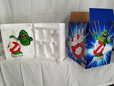 Ghostbusters Logo Bank and Slimer Rare Item.