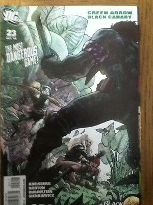 Green Arrow / Black Canary issue 23 from October 2009 - postal discounts apply