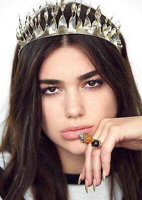 Dua Lipa Poster New Rules UK Model Singer Hotter Hell FREE P+P, CHOOSE YOUR SIZE