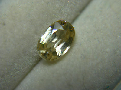 Fancy Imperial Champagne Zircon gemstone Natural Untreated gem Tanzania oval
