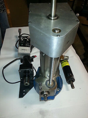"""FF1000 Climax Flange Facing Machine. 8"""" stroke. 4"""" spindle. 40 taper spindle."""