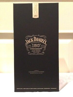 Jack Daniels Daniel's 150th Anniversary Limited Edition 1L US Collectors Bottle