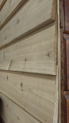 Western Red Cedar Weatherboard Reversible 170mm cover