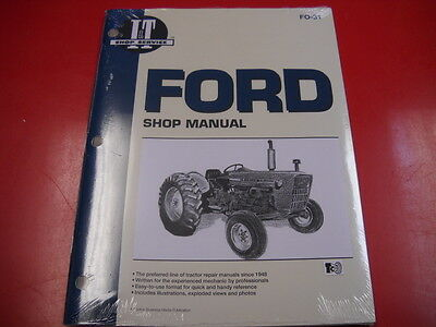 Ford Tractor I&T Shop Service Manual 2000 3000 4000 3 Cylinder Tractors FO31