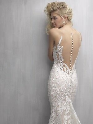 Wedding Dress - Madison James MJ 271 Brand NEW With Tags Lace Backless Fitted