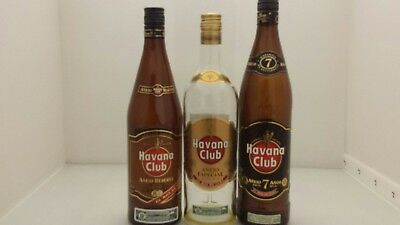 Havana club bottles - When size really DOES matter!