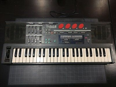 Rare 1987 Rhythmic 8 Keyboard Vintage Synthesizer With Bender Video Technology