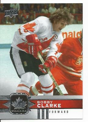 17-18 CANADIAN TIRE Team Canada Bobby Clarke Canvas - $0 76