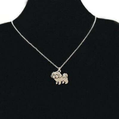 Cartoon Shih Tzu Pendant Necklace ANIMAL RESCUE DONATION