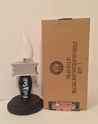 "Full Sail Brewing Company OR Navy Beer Tap Handle 7"" Tall - Brand New In Box!"