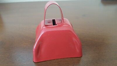 Small Red Metal Cow Bell