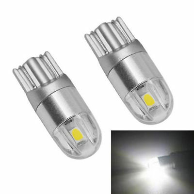 4 X Osram T10 W5W 168 2 LED 6500K Car interior Reading Light 12V DC White Lamp