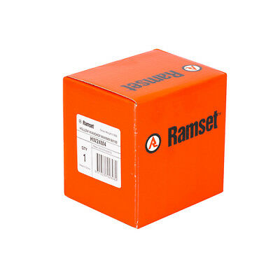 Genuine Ramset Gold Passivated Hollow Wall Anchor P/N-HW24M4 - 100pc BOX