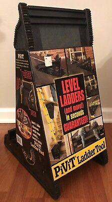 Pivit Ladder Tool, Level Ladders And More In Seconds pivot stabilize lean secure
