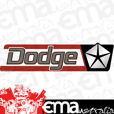 "ORB-90145610 Dodge Pentastar Steel Sign 20"" x 5"""
