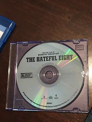The Hateful Eight (DVD Only, 2016) New Never Used! Samuel L. Jackson Kurt Russel