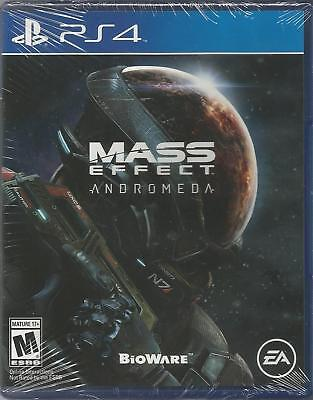 BIOWARE EA MASS EFFECT ANDROMEDA SONY PS4 PlayStation 4 BRAND NEW FAST SHIP