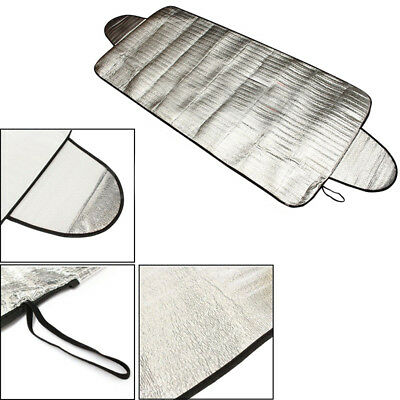 Car Snow Protect Cover Magnet Windshield Ice Sun Frost Protector Sun Shield Mat
