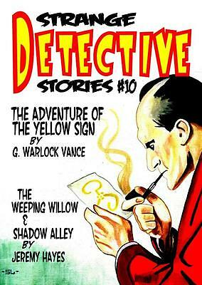 196 STRANGE DETECTIVE STORIES #10 - Weird detective fiction - Sherlick Holmes