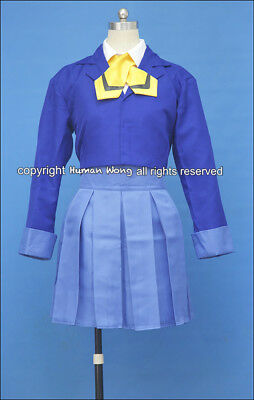 Magic Knight Rayearth Umi Ryuuzaki School Cosplay Costume Size M