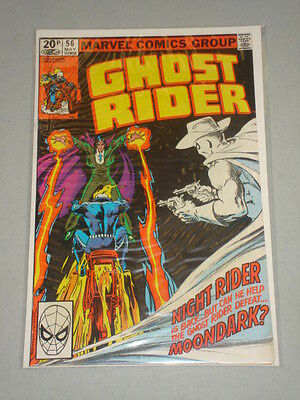 Ghost Rider #56 Vol 1 Marvel Comics May 1981