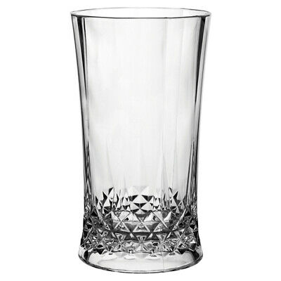 Gatsby Polycarbonate Hiball Glasses 460ml - Set of 4 - Plastic Highball Tumblers