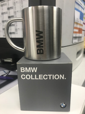 Genuine BMW Active Stainless Steel Mug 330ml 80282446015