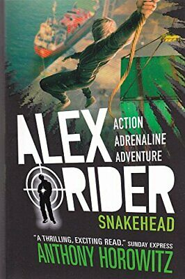 ALEX RIDER MISSION 7: SNAKEHEAD [Paperback] [Jan 01, 2017] Books Wagon Book The