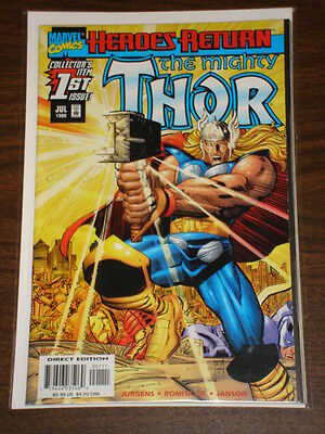 Thor #1 Vol2 The Mighty Marvel Comics July 1998