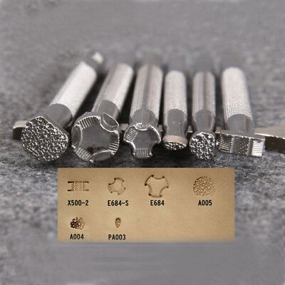 1 Pcs Leather Printing Tool Alloy Carving Making Craft System Punch Stamps HM