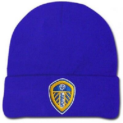 leeds united footbal club wool hat LUFC Elland Road The Peacocks The Whites