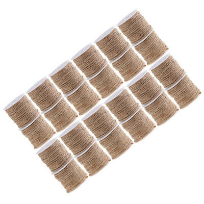 Natural Burlap Jute Twine Rope Cord String Wedding Craft Embellishments 10M
