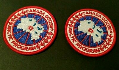 canada goose high quality replacement badges x2 supplied