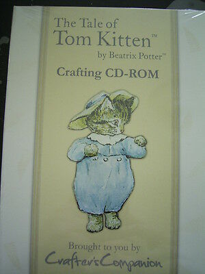The Tale of TOM KITTEN by BEATRIX POTTER Crafting CD Rom x Crafters Comp