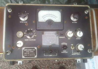 AVO Amplifier D.C.Type 1388 B - Don't Know What It Does! - Sold For Spares