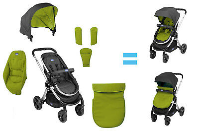 New Wimbledon Chicco Urban Pushchair Colour Pack Stroller Accessories