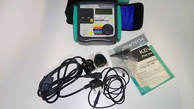 Kewtech KT71 Manual Pat Tester With Automatic Sequeces