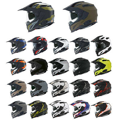 Nexx XD1 Adventure Touring Dual Sport Motorcycle Helmet All Colours & Sizes