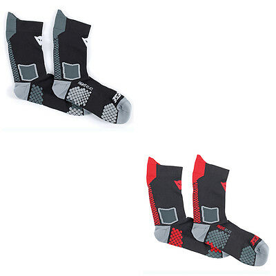 Dainese D-Core Motorrad Motorcycle Motorbike Unisex Mid Socks All Colours &
