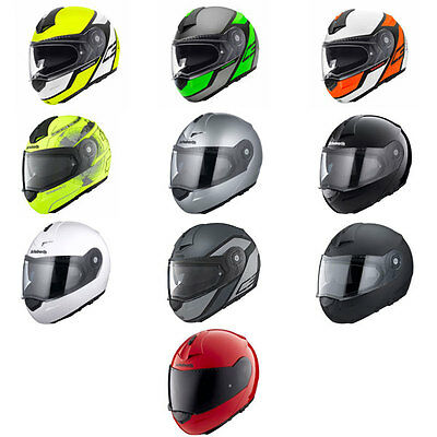 Schuberth C3 Pro Flip Front Up Motorbike Motorcycle Helmet All Colours & Sizes