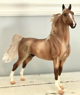 Breyer Traditional 2013 Christmas Holiday Horse On Parade! Good Condition & TACK