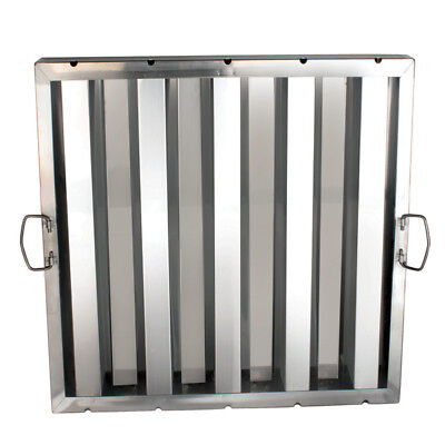 "Hood Grease Filters Stainless Steel Restaurant Kitchen 20"" X 20"""