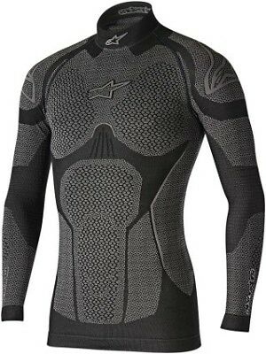 Alpinestars Ride Tech Mens Winter Long Sleeve Compression Shirt Black