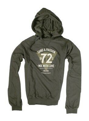 Dainese 72 & Passion Mens Hoody Sweatshirt Gray 3XL