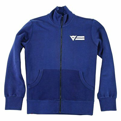 Dainese N'Joy (Enjoy) Every Road Mens Zip-Up Sweatshirt Navy Blue