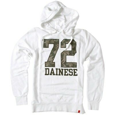 Dainese Seventy-Two (72) Mens Hoody Pullover Sweatshirt White/Green Camo