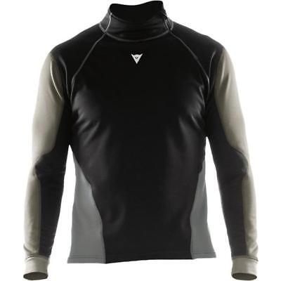 Dainese Top Map Thermal Windstopper WS Shirt Black/Gray/Light Gray