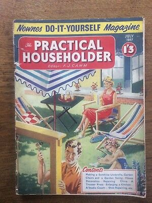 The practical householder do it yourself magazines 5556 5657 vintage newnes do it yourself magazine the practical householder july 1957 solutioingenieria Images